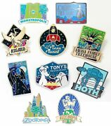 Disney Fantastic World Pins D23 Exclusive Limited Edition Sold Out - Brand New