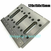 Wire Edm Fixture Board Stainless Jig Tool For Leveling And Clamping 120x150x15mm