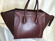 Authentic Candeacuteline Medium Luggage Size Phantom In Brown Great Condition Classic
