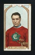 1911 C55 42 Edouard Cyrille Newsy Lalonde First Montreal Canadien Ever Key Card