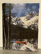 Original Old Town Canoe Company Catalog - Rare Boats Marine Products Collector