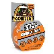 Gorilla Tape Crystal Clear Uv Resistant Works Under Water 48mm X 8.2m