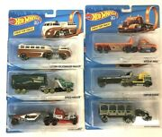 Hot Wheels 50th Anniversary Hauler Set For Track Rare In Case Lot Complete