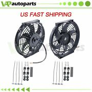Radiator Condenser Cooling Fan 10 Inch Universal For Chevrolet Astro Tahoe