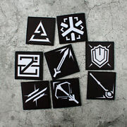 Arknights Vanguard Sniper Guard Caster Defender Specialist Tags Patch Patches
