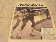 Roller Derby 47 Year Old Edition Of Roller Derby Illustrated.