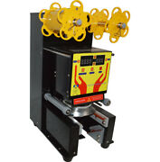 Brand New Fully Automatic Cup Sealing Machine For Beverage Shops Commercial 110v