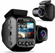 Rexing W202 Mini 2andrdquo Lcd Dual Camera Front And Inside Cabin 1080p Fullhd Dash Cam
