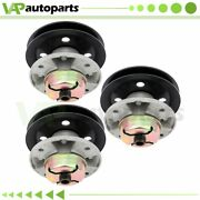 3pk Spindle Assembly For John Deere Gt235 Gt245 S2048 S2348 Am121342 Am121229