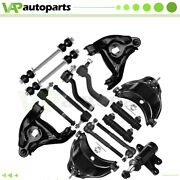 For 1993-2000 Chevy C1500 C2500 Complete 15pcs Front Control Arms Tie Rods Kit