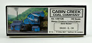 B.t.s. Master Cration Ho Scale 28105 Cabin Creek Coal Company Building Kit