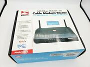 Brand New Open Box Zoom Docsis 3.0 Cable Modem And Wireless-n Router 5352-00-00