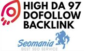High Da 97 Backlink Seo Off-page Dofollow Permanent Link High Authority
