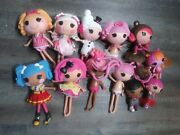Lalaloopsy Full Size And Little Sister Doll Lot 12