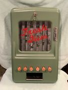 1930andrsquos Antique Penny Gum Ball Machine Stoner Vending Works Refinished