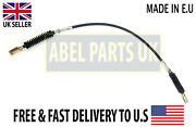 Jcb Parts - Dump Control Cable For Jcb 3cx 4cx Part No. 910/20100