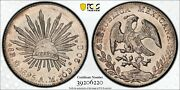 1895 Mexico 8 Reales Pcgs Ms63 Pl Proof Like Top Pop 1/0 Only 1 Graded Pl