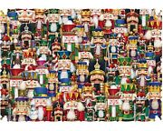 Wentworth Jigsaw Puzzle Festival Of Nutcrackers 245 Piece Wood Extra Difficult