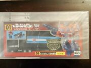 Transformers Optimus Prime Jafcon 2000 Tokyo Toys Show Exclusive Cad Grading 8.5