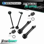 4x Front Lower Control Arm + 2x Lower Ball Joint For 2006-2010 Dodge Charger Rwd