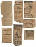 1930's New Haven Newspaper Advertisements, New Haven, Conn