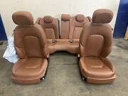 2014 Maserati Ghibli Complete Cuoio Front And Rear Seats Assembly Used Note