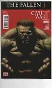 Civil War 2 The Fallen And The Accused And The Oath 1 Hi Grade Death Of Hulk
