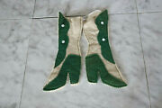 Antique Turn Of Century Victorian Boots Christmas Stockings