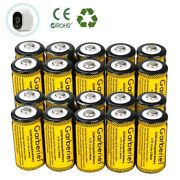 20pcs 2800mah 16340 Cr123a Li-ion Rechargeable Battery For Arlo Security Camera