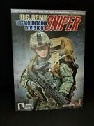 1/6 Us Army 10th Mountain Division Sniper From Hot Toys. Mib