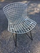1950 Mid Century Early Harry Bertoia Knoll Wire Collection Side Chair