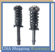 Front Pair Complete Quick Struts Coil Spring Assemblies For 2005-2012 Acura Rl