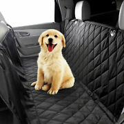 1pc Waterproof Car Suv Rear Seat Dog Pet Heavy Duty Cushion Cover Protect Travel