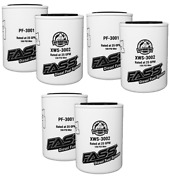 Fass Pf-3001 Xws-3002 3 Pairs Replacement Fuel Filter And Water Separator Titanium
