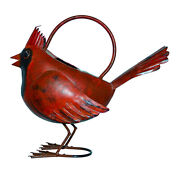Watering Cans - Colorful Cardinal Metal Watering Can - Garden Decor