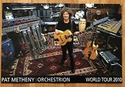 Nwt Pat Metheny Orchestrion 2010 World Tour Poster