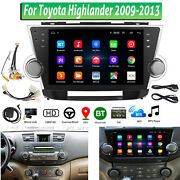 10.2 Android 8.1 Car Stereo Radio Gps Navigation Player For Toyota Highlander
