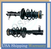For 2014-2015 Chevrolet Malibu Front Pair Quick Complete Struts With Coil Spring
