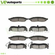 For Nissan Titan 2004 2005 2006 2007 Front And Rear Ceramic Disc Brake Pads