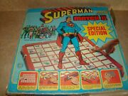 Vintage Superman Match Ii Board Game 1979 Ideal Toy Dc Comics Rare Not Complete