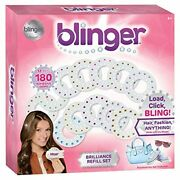 Blinger Brilliance Color Refill Set Andndash Includes 180 Round Gems In A Variety Of
