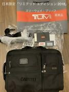 Tumi Three-way Briefcase Business Bag Japan Exclusive Limited Edition 2018