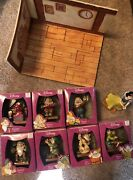 Snow White And The Seven Dwarfs Enesco 65th Anniversary Figurines And Display