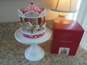 2020 Hallmark Gingerbread Carousel Signing Piece Rare Signed New In Hand