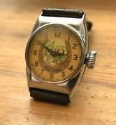 Vintage 1949 Dale Evans Ingraham Watch Co, Good Condition Not Running.