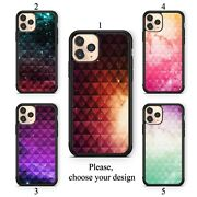 Studded Ombre Case For Iphone 11 12 Xr Pro Se Max X Xs 8 Plus 7 6 Tpu Cover Sn