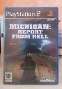 Michigan Report From Hell Ps2 Playstation Two New Nuovo Ita