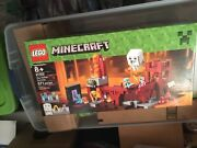 New Lego Minecraft 21122 The Nether Fortress Set