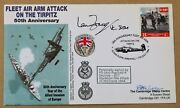 Attack On The Tirpitz 1994 Cover Signed Reginald Delorey Poair And Ian Fraser Vc