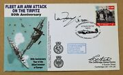 Attack On The Tirpitz 1994 Cover Signed By Lta Herbert Pethick And Ian Fraser Vc